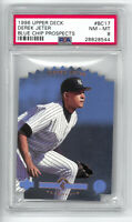 Derek Jeter 1996 RC Blue Chip Prospects HOF Rookie Card PSA 8 - SEE DESCRIPTION!