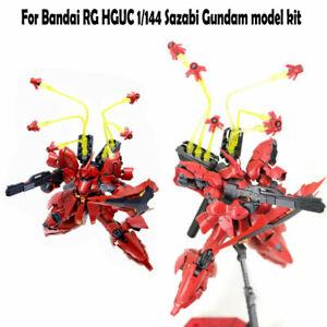 For RG HG UC 1/144 Sazabi Gundam Model Effectswings EW Clear Funnel Effect SUS