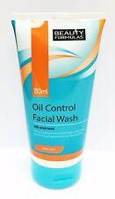 X2 Beauty Formulas Olio Control FACCIALI lavare con Amamelide (Pelle chiara) 150ml