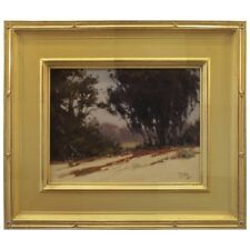 Brian Blood Oil Painting California Impressionist Eucalyptus 2013 Signed Framed