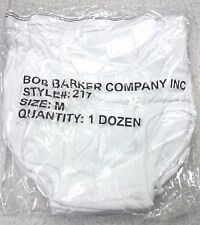 NEW  SEALED MENS BOB BARKER MEDIUM SIZE QUALITY UNDERWEAR 12 PAIR