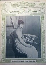 MODE COUTURE BRODERIE TRICOT REVUE OUVRAGES de DAMES N° 316 / 1914 MODELE PATRON