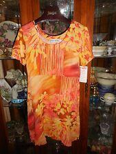 Jams World FAB M NEW NWT Hawaiian Baby Doll SPLASH Hattie Sun Dress Tie