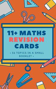 11 Plus Maths Practice Exam Revision Cards 50 plus cards Booklet