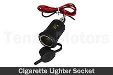 12V coche moto van encendedor de cigarrillos del vehículo Negro Toma De Corriente/30206