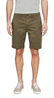 Timberland Men's Squam Lake Chino Summer Shorts Green Straight Fit Cotton New