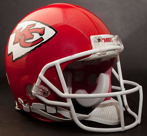JOE MONTANA Edition KANSAS CITY CHIEFS Riddell AUTHENTIC Football Helmet