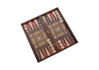 Master Games-Backgammon Elegance (Perlmutt)-Tavla (Sedef) NEU / OVP