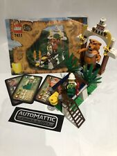 Lego Orient Expedition Tygurah's Roar (7411) + Instructions + Game Cards 2002