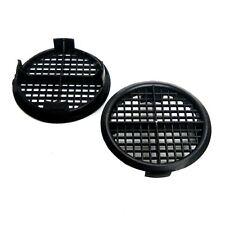 50 x 70mm Black Plastic Round Soffit Air Vents UPVC Push Fit Eaves Disc / Fascia