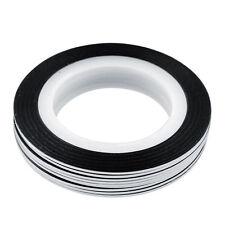 Clear Tape Nail Art