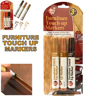 3 Touch up Marker Pen for Wood Floor Furniture Repair Light Medium & Dark Brown