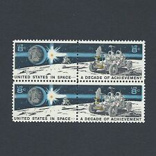 Apollo 15 Lunar Rover - Vintage Mint Set of 4 Stamps 46 Years Old!
