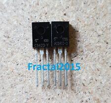 1 paire 2SA1360-Y/2SC3423-Y 2SA1360/2SC3423 A1360-Y/C3423-Y TOSHIBA TO126