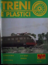 Treni e Plastici n°9 1979 Costruiamo Ale 880 in scala H0 - Tee Gottardo