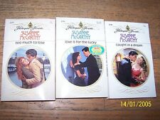 3 Susanne McCarthy Romance Books in Great Condition