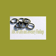 200 PZ Antico Bronzo Open jump rings 6 x 0.7mm