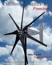 Missouri Rebel Freedom 48 volt 1700 watts max 7 blade wind turbine generator
