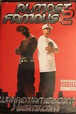 ~ ALMOST FAMOUS 2 ~ DVD 2006  WARREN JAMEZ J-BEATS RARE MOTORCYCLE STREET STUNTS