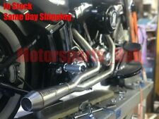Stealth Pipes Harley Davidson Dyna Stainless 2to1 Exhaust System 06 - 17 Gen 1