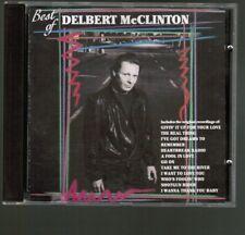 Delbert McClinton best of Curb 1991 CD