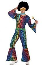 Déguisement Homme Disco Multicouleur M/L Costume Adulte Année 1980