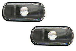 2x Side Marker Lights RIGHT=LEFT Fits SAAB 90 900 9000 9-3 9-5 Sedan Wagon 1978-