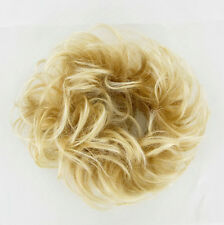 scrunchie very light golden blond hair ref wick Blond 17:24bt613 peruk