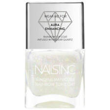 Nails Inc The Mindful Manicure Good Vibes Only Rainbow Top Coat 14ml/.47oz New