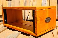 4U Desktop Studio Rack Cedar