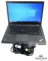 "Lenovo ThinkPad T440S Dual Core i5-4300U 14"" 1.90GHz 500GB HDD 4GB RAM - READ"