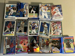 HUGE 50 CARD BASEBALL ROOKIE PROSPECT LOT BOWMAN TOPPS CHROME 2012-2020 RC