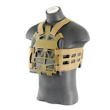 The Mercenary Company Lightweight Skeleton Plate Carrier Vest PlateFrame