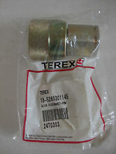 New Terex Tractor Farm Implement Quick Disconnect Female Fitting 18-5260301145