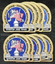 LMH Patch TEN 10 NASA SPACE SHUTTLE Mission STS 51-D DISCOVERY Jake Garn Sen LOT