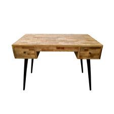 Wooden Desk Scandanavian Look Timber Home Computer Huber Study Office