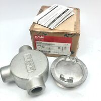 "EATON GUAT26 CROUSE HINDS 3/4"" WITH O RING GASKET AND GROUND SCREW"