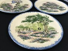 Cow Creek Pottery Hand Painted Plates Signed Jose Ingram, TX