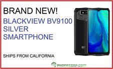 BLACKVIEW BV9100 SILVER IP68 4G LTE Smart Phone Rugged heavy duty waterproof