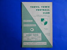 YEOVIL TOWN v CORBY TOWN 1965/66  Southern League Premier Divison