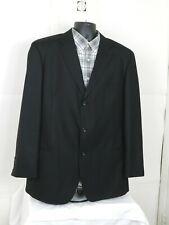 Caravelli  Mens Blazer Sport Coat Size 44L Black Three Button