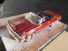 1/43-CHEVROLET IMPALA'LIVE AND LET DIE'-USED/GOODCONDITION//NO PLASTIC CASE