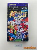 CHO MAKAIMURA Super Ghouls'n Ghosts Nintendo Super Famicom SFC JAPAN Ref:314551
