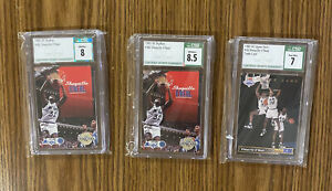 1992-93 SKYBOX And Upper Deck~ SHAQUILLE O'NEAL - LOT Of 3 CSG Grades Rookies!