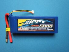 ZIPPY 5000mAh 3S 11.1V 40C 50C LIPO BATTERY 5.5MM BULLET CAR TRUCK PLANE BOAT RC