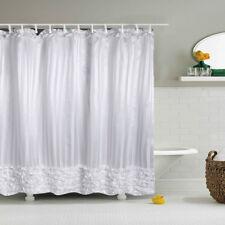 Shower Curtain White Princess Dress Design Bathroom Waterproof Odor Free Curtain