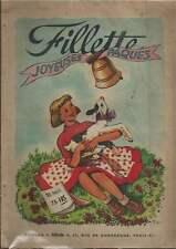 FILLETTE JEUNE FILLE N° SPECIAL JOYEUSES PÂQUES . 1951 . AGGIE/LILI