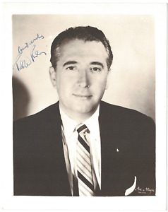 Peter Rodino signed autographed 8x10 photo! RARE! AMCo Authenticated!