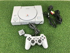 SONY PLAYSTATION ONE PS1 CONSOLE SCPH-9002 SET UP READY TO PLAY