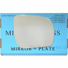 Right Driver side Wing door mirror glass for Subaru Forester 11-13 +plate